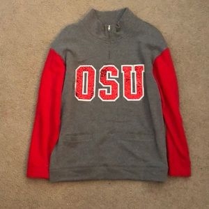 PINK Ohio State Pullover